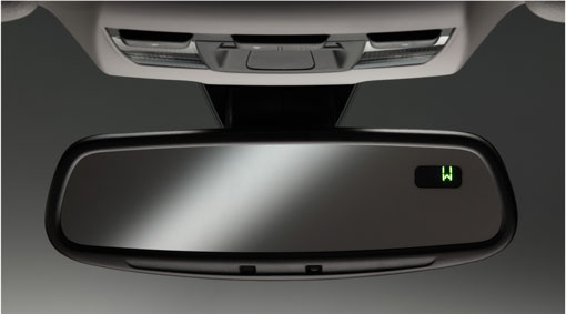 Mirror Rear View Auto Dimming With Compass XC70 2008-2014