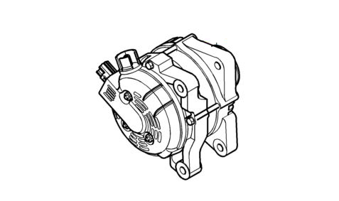 Genuine Volvo 150a Alternator - D4204T 2.0d engine - 36050997