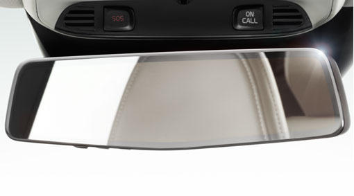 Mirror, Rear View, Auto Dimming With Compass, XC70 2014-