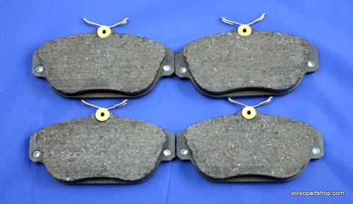 "S60/V60 11- front brake pads, for cars with 16"" brakes"