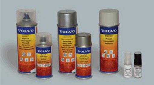 Car Spray Paint Volvo Silver Metalic Blue Code