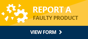 Report a faulty product